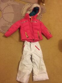 Age 4 Ski Jacket and trousers