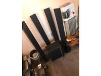 Surround sound LG speakers