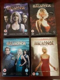 Battlestar galactic dvd boxed set full set as new