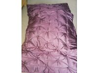Buttoned quilted throw/bedspread from next