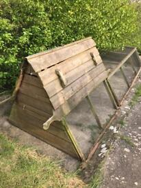 Large chicken coop and run only £75 no offers bargain