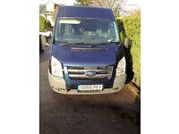 Ford Transit 115 T280M Trend Panel Van Metallic Dark Blue