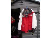 Helly Hanson Waterproof sailing jacket