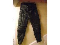 Frank Thomas Motorcycle Leather Trousers