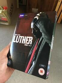 Luther DVD - Series 1 and 2