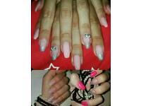 Shellac nails , extensions & pedicure