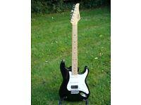 Suhr Classic Pro HSS Electric Guitar - Black/Maple - MINT - Fender Strat