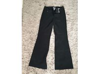 Warehouse black trousers - size 10, new with tags