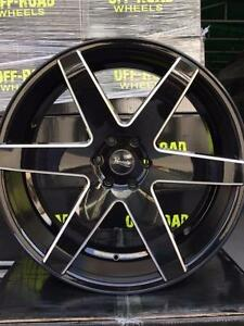 "NEW! 24"" BLACK and MILLED WHEELS w/TIRES! - f150 chevy 1500 escalade navigator mark lt - 6012"