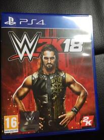 PS4 Game. WWE 2K18