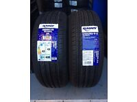 2x 205/60R15 91V + 91H RUNWAY LOW BUDGET QUALITY TYRES