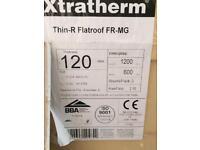 Xtratherm 120mm insulation