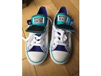 Brand new converse with box size 3