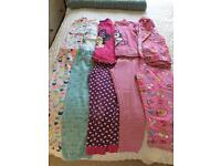 Girls Pyjamas bundle 5-6 years