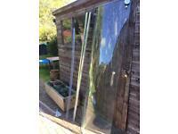 Quadrant shower enclosure and tray