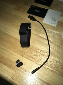Small Fitbit charge hr in black