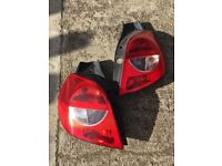 2008 mirrors & back lights for Renault Clio.
