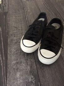 Size 3 Chuck Taylor style Converse