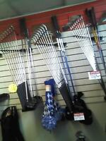 GOLF SETS AND INDIVIDUAL CLUBS