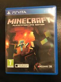 Minecraft game for Psvita