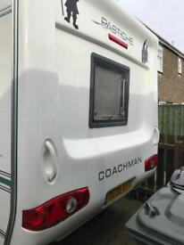 Coachman pastiche 2 berth caravan