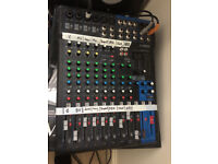Yamaha MG12 XU 12 Channel Mixing Desk (Immaculate Condition)