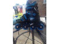 Heelies and roller boots
