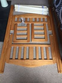 Mothercare pine toddler bed