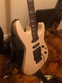 Vintage superstrat electric guitar