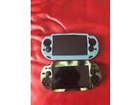 X2 Ps Vita Console Boxed with Games