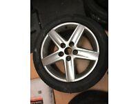 Audi A6 17 inch alloy wheel