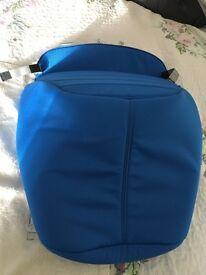 Brittax Affinity Sky blue pushchair apron