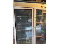 Polar Double Door Display commercial Fridge 944 litres