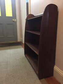 Remploy retro solid hardwood bookcase