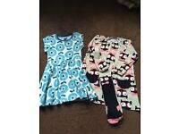 Polarn o pyret dresses size 104, 3-4 years