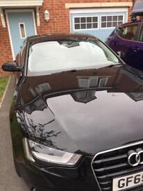 Audi A5 Sportback 65 plate 29800 miles leather interior sat nav 2 sets of keys one owner