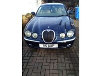 jaguar S type 3.0 petrol blue
