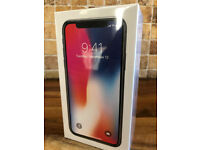 BRAND NEW AND SEALED APPLE IPHONE X (10) FACTORY UNLOCKED SPACE GREY