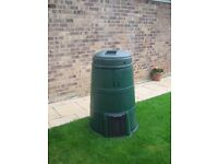 Compost Bin. Hardly used at all and is as good as new. £10