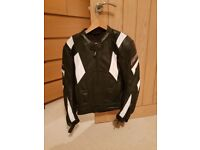 Rst leather motorbike jacket