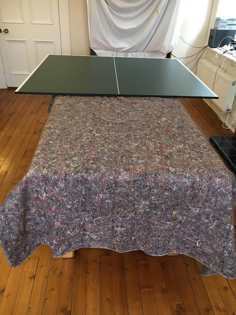 Free - Table Tennis Table for dining/kitchen table top complete with nets and supports.