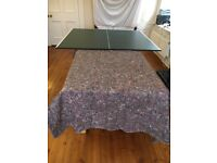 Table Tennis Table which sits on top of kitchen/dining table.