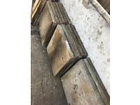 27 60cm x 60cm concrete slabs