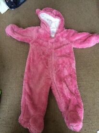 Girls 6-9 months snow suits