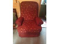 2 seater sofa & armchair