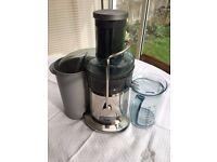 Nutri juicer by Heston Blumenthal fast effective juicer for fruit & veg