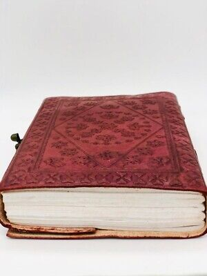 Handcrafted Indian-made Real Leather Vintage Journal A5