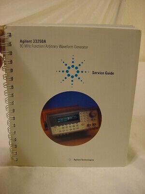 Vtg Manual - Agilent 33250a 80 Mhz Function Arbitrary Waveform Generator