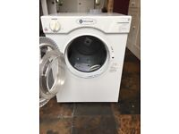 USED WHITE KNIGHT VENTED TUMBLE DRYER - White