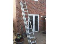 LIGHT WEIGHT ALUMINIUM 3PEICE LADDERS